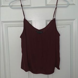 kendall and kylie burgundy top